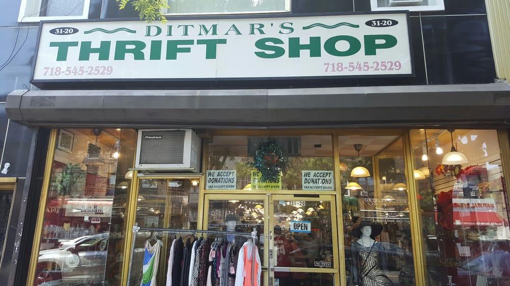 Thrift shop là gì?