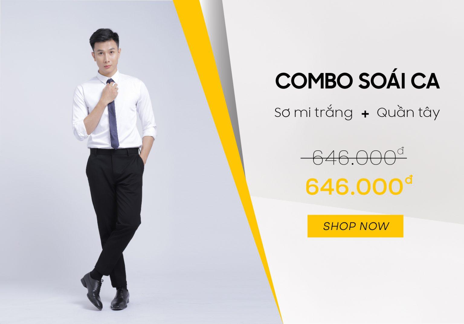 mua quần áo nam online ở celeb